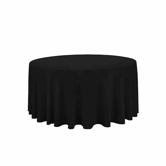 120 round black linen luxe event rental for 120 table cloth rental