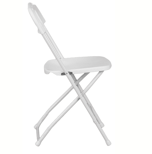 White Folding Chair Luxe Event Rental