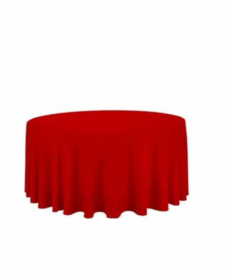120 inch round red tablecloth atlanta rental 2 1 for 120 table cloth rental
