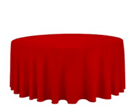 120 Quot Round Red Linen Luxe Event Rental Atlanta Party