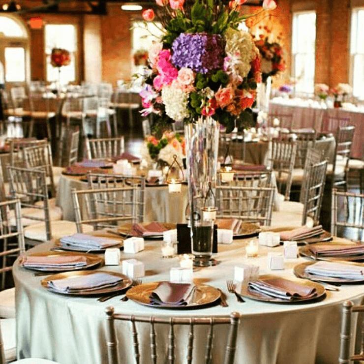 Gold Silver Chiavari Chair Rental Atlanta Luxe Event Rental