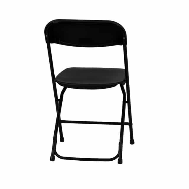 Black Folding Chair Luxe Event Rental