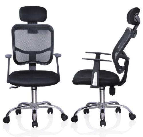 Ergonomic High Back Executive Office Chair   Image Modern Ergonomic Mesh  High