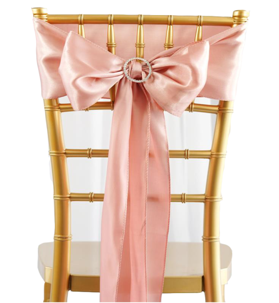 Decorative Tie Amp Chair Sash Luxe Event Rental