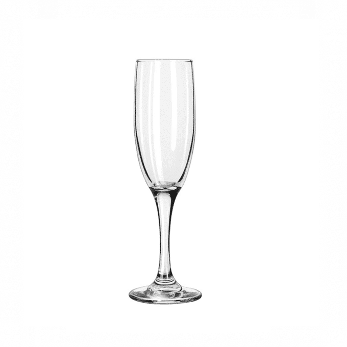 Champagne Flute Glass Luxe Event Rental