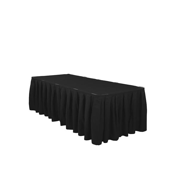 21 Ft Black Table Skirt Part 90