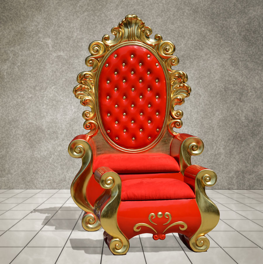 Santa Chair on Rental | Cheap and Quality
